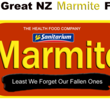I Survived the Great NZ Marmite Famine of 2012 Sticker