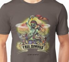 Free Zombies Unisex T-Shirt