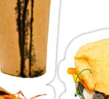 Junk Food Sticker
