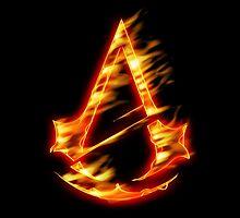 ASSASSINS - Fire Version by Arien Jorgensen