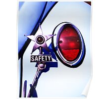 VW Safety Star Poster