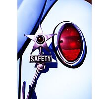 VW Safety Star Photographic Print