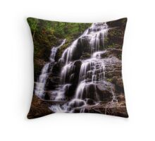 Sylvia Falls II - Blue Mountains NSW Australia Throw Pillow