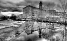 Salts Mill Panorama by Colin  Williams Photography