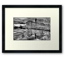 Salts Mill Panorama Framed Print