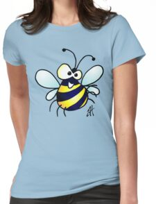Bumbling bee Womens Fitted T-Shirt
