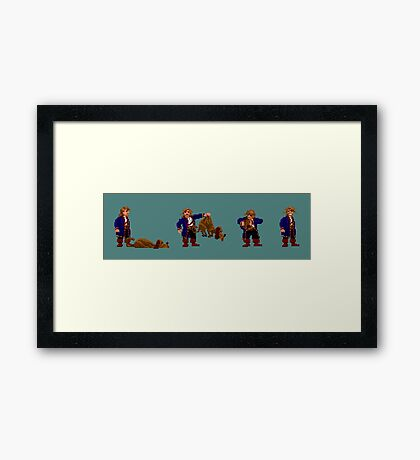 Guybrush and... Guybrush! (Monkey Island 2) Framed Print