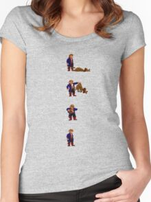 Guybrush and... Guybrush! (Monkey Island 2) Women's Fitted Scoop T-Shirt