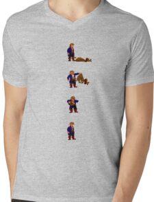 Guybrush and... Guybrush! (Monkey Island 2) Mens V-Neck T-Shirt