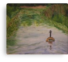 Lonely Goose Canvas Print