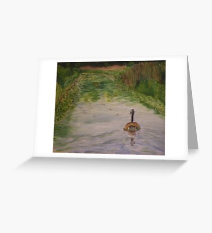 Lonely Goose Greeting Card