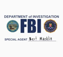 Bert Macklin: FBI by Michael Covino