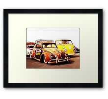 Cruise the Coop Framed Print
