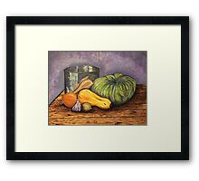 pumpkin soup Framed Print