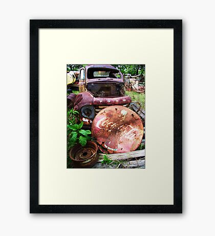 COLA FORD Framed Print