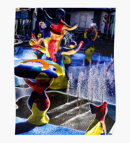 Water Dancer Poster