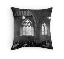 In silence and solitude Throw Pillow