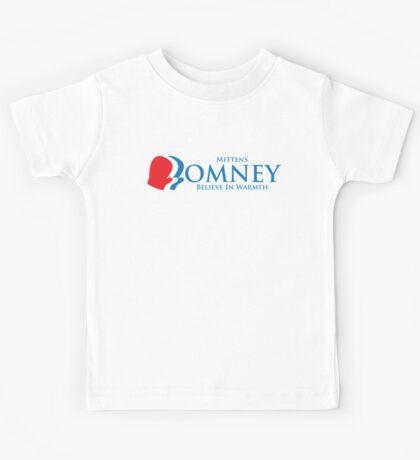 Mittens Romney Kids Tee