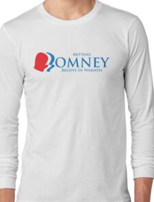 Mittens Romney Long Sleeve T-Shirt
