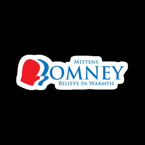 Mittens Romney by happyweasel