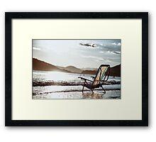 Brazilian beach Framed Print
