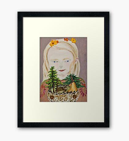 Children of the Bear Framed Print