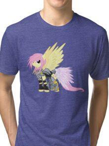 Lightning Fluttershy Tri-blend T-Shirt