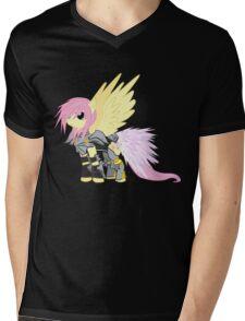 Lightning Fluttershy Mens V-Neck T-Shirt