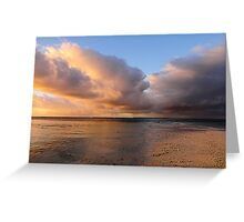 Sunset Storm Clouds II Greeting Card
