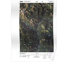 USGS Topo Map Washington State WA Chinook Pass 20110506 TM Poster