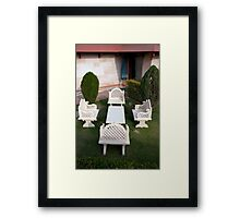 Indian Garden Framed Print