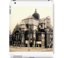 Old Building postcard iPad Case/Skin