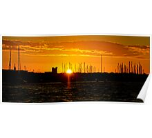 Gee Long Sunset  Poster