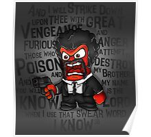 Furious anger Poster