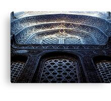 Sultan Hassan Mosque Detail Canvas Print