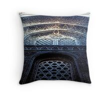 Sultan Hassan Mosque Detail Throw Pillow