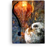 OVER THE MOON Canvas Print