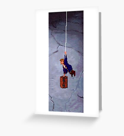 Monkey Island II Greeting Card