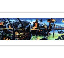 Scabb Island Panorama (Monkey Island 2)  Sticker