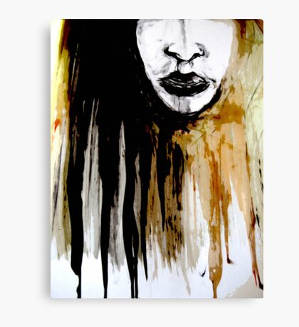 this girl#7... mind set on you Canvas Print