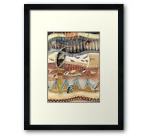 Tropical Fusions (Panel 2 of 4) Framed Print