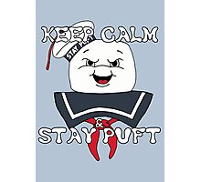 Keep Calm and Stay Puft Photographic Print