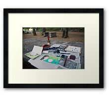 Atelier en plein air Framed Print