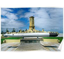 Fremantle War Memorial Poster