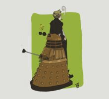 Wholock Moran and the Dalek by Bskizzle