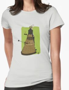 Wholock Moran and the Dalek Womens Fitted T-Shirt