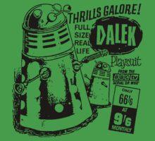 Dalek Playsuit by loogyhead