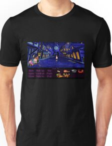 Melee Island streets (Monkey Island 1) Unisex T-Shirt