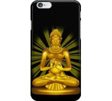 Buddha Siddhartha Gautama Golden Statue iPhone Case/Skin