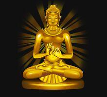 Buddha Siddhartha Gautama Golden Statue T-Shirt